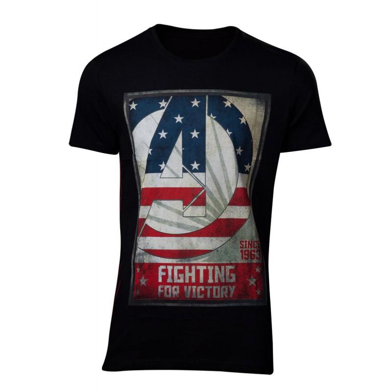image du jeu T-shirt - Avengers - For Victory Men's - Taille S sur AUTRES