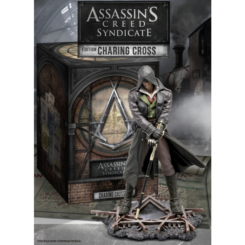 image du jeu Assassin's Creed Syndicate Edition Collector Charing Cross - Exclusivité Micromania sur PS4