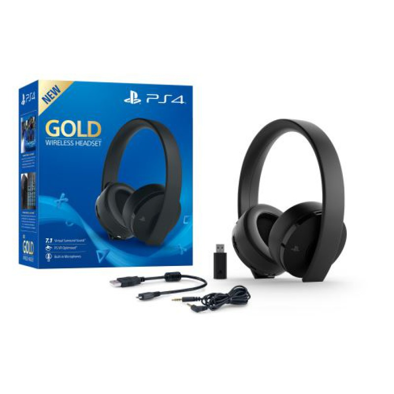 CASQUE sans fil GOLD - PS4