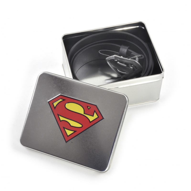 CEINTURE - SUPERMAN - Boîte Aluminium Logo Superman - DIVERS e4aa14b0bbd