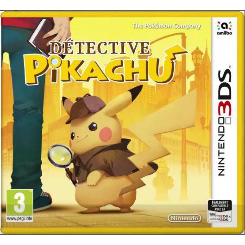image du jeu Détective Pikachu sur 3DS