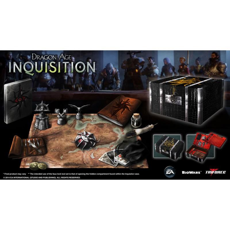 image du jeu Coffret Collector Dragon Age : Inquisition (sans Le Jeu) sur AUTRES