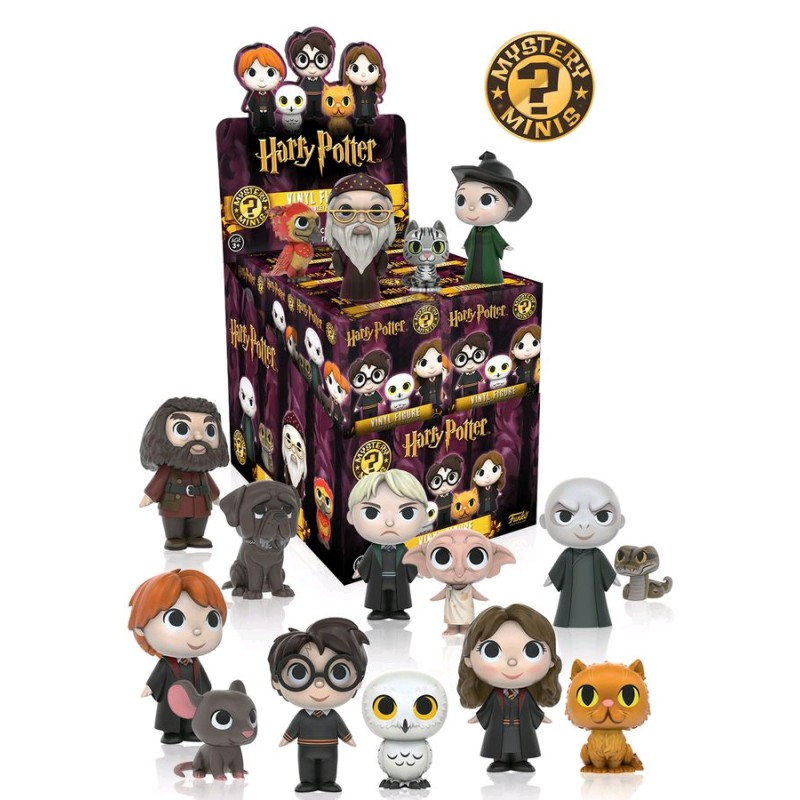 Figurine Mystere Harry Potter Divers