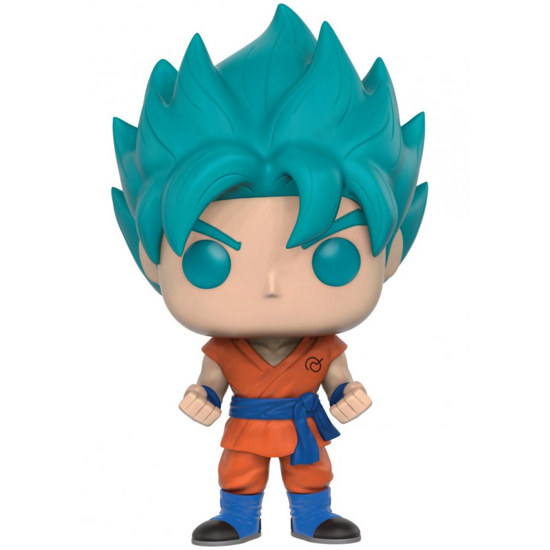 Figurine Toy Pop 121 Dragon Ball Z Super Saiyan God Goku Blue