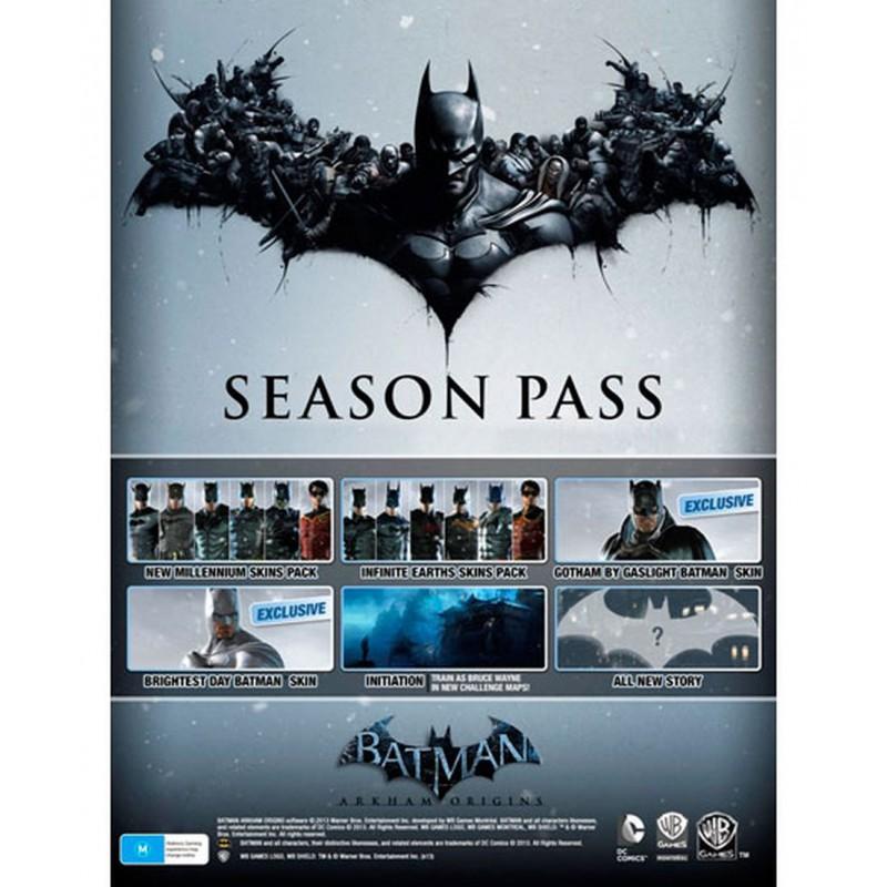 image du jeu Season Pass - Batman : Arkham Origins sur PS3
