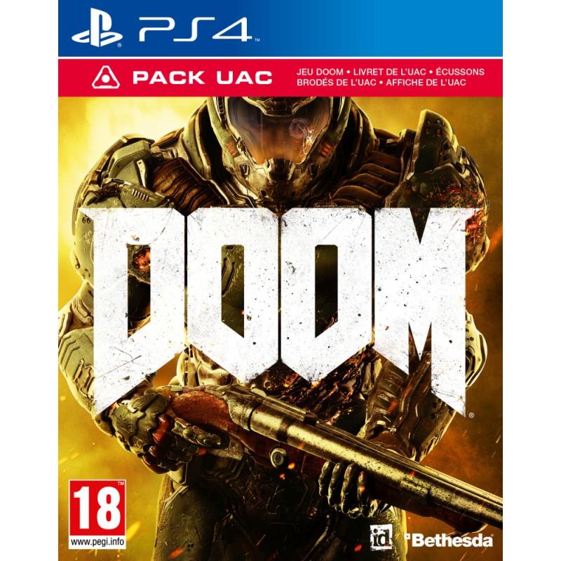 image du jeu Doom UAC Pack - Exclusivité Micromania sur PS4