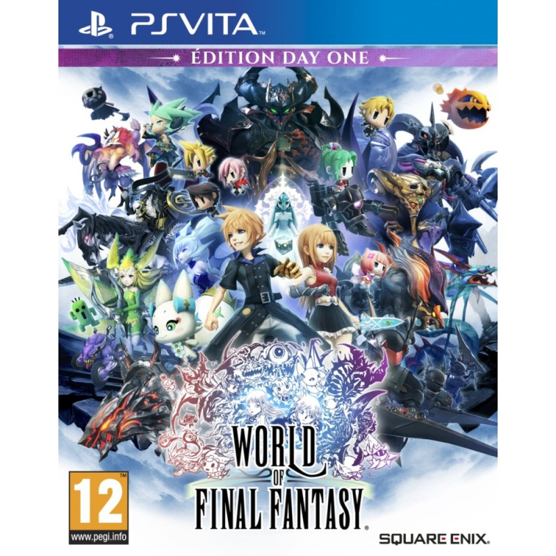 image du jeu World of Final Fantasy - Edition Day One sur PS VITA