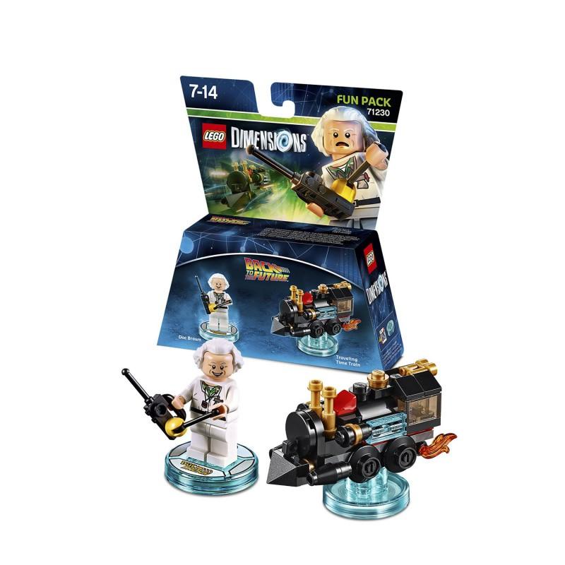 Le Retour Divers Vers Dimensions Futur Lego Brown Figurine Doc Y7vgf6by