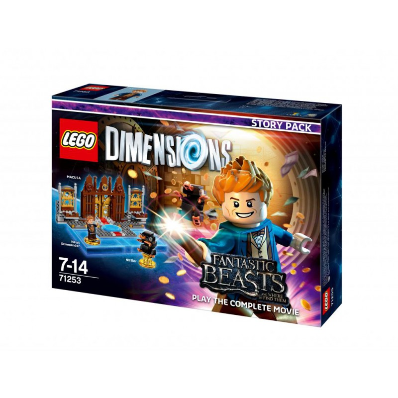 Dimensions Lego Histoire Fantastic Beasts Divers Pack v8nm0wN