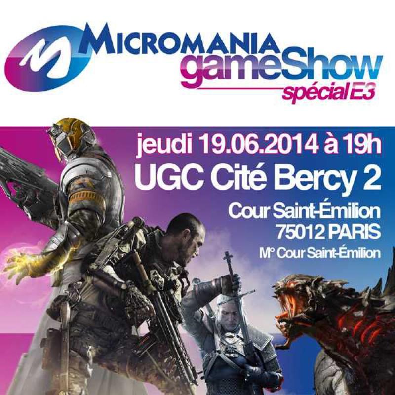 image du jeu 1 Place Micromania GameShow Special E3 2014 sur AUTRES