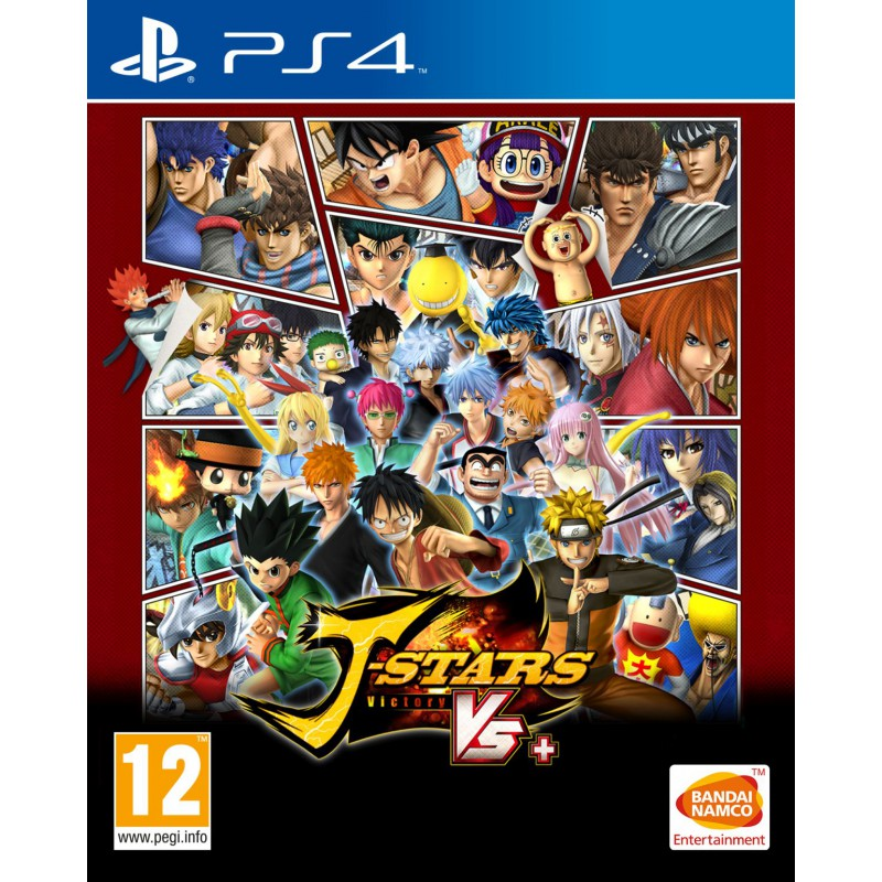 image du jeu J-Stars Victory Vs+  sur PS4