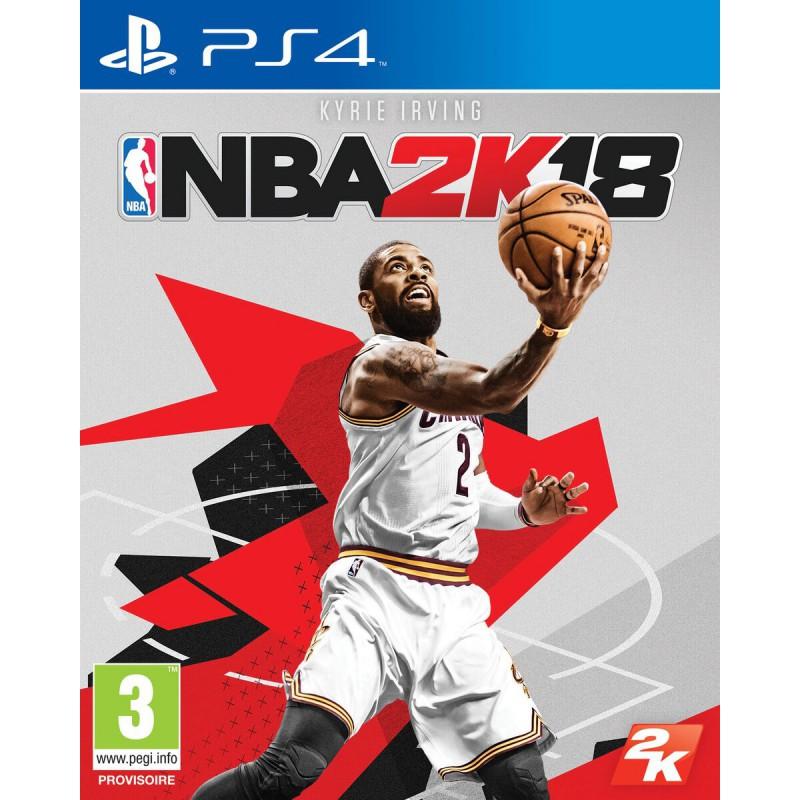 image du jeu NBA 2K18 sur PS4