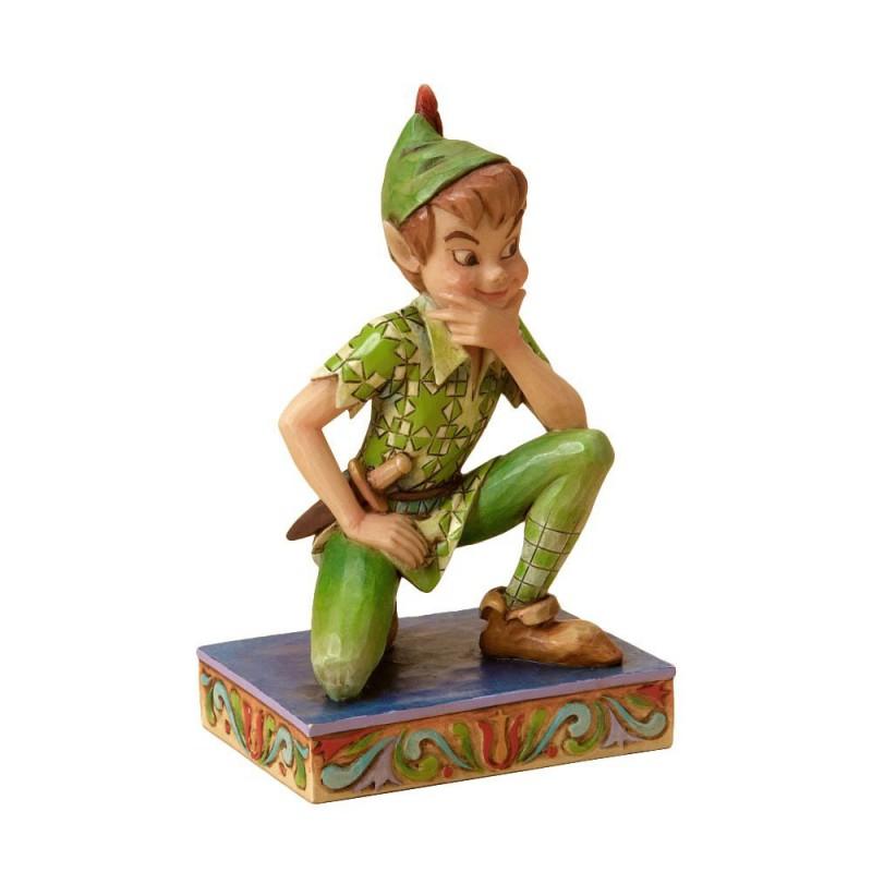 image du jeu Statuette - Peter Pan - Agenouillé Disney Traditions sur AUTRES