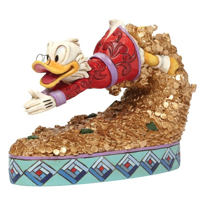 image du jeu Statuette - Picsou - Disney Traditions Plongeoir en or sur AUTRES