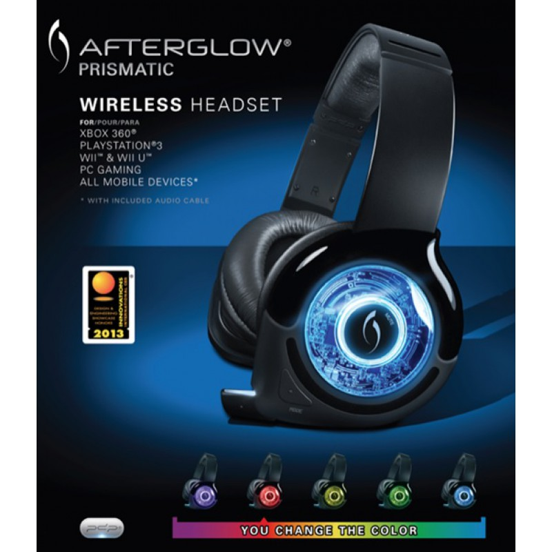 Casque Afterglow Universel Wireless Prismatic Xbox360