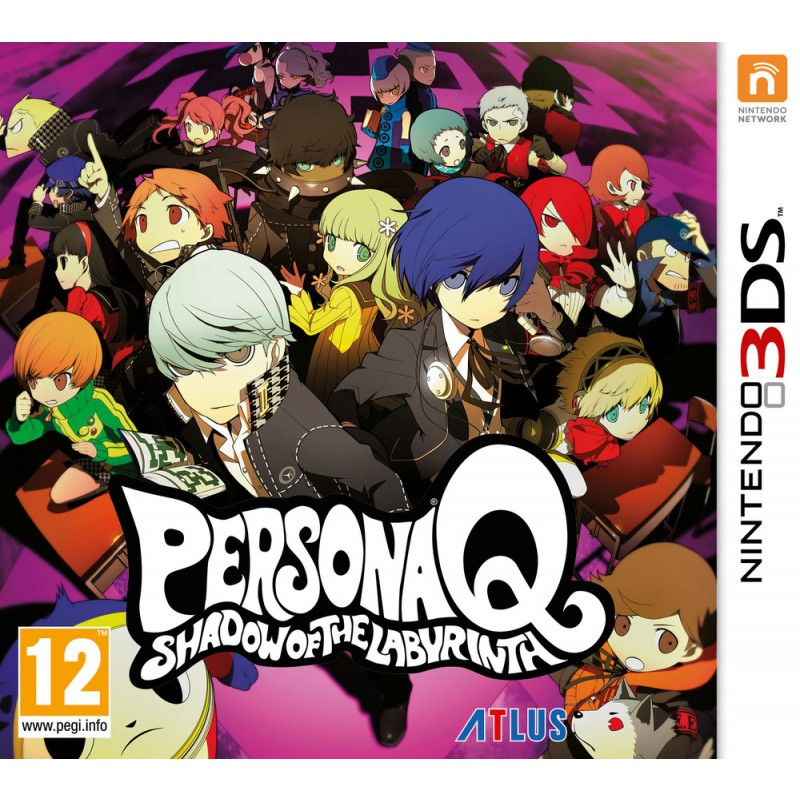image du jeu Persona Q : Shadow of The Labyrinth sur 3DS