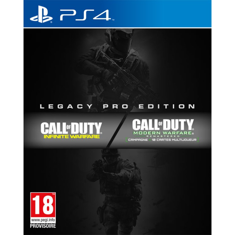 image du jeu Call of Duty : Infinite Warfare Edition Legacy Pro sur PS4