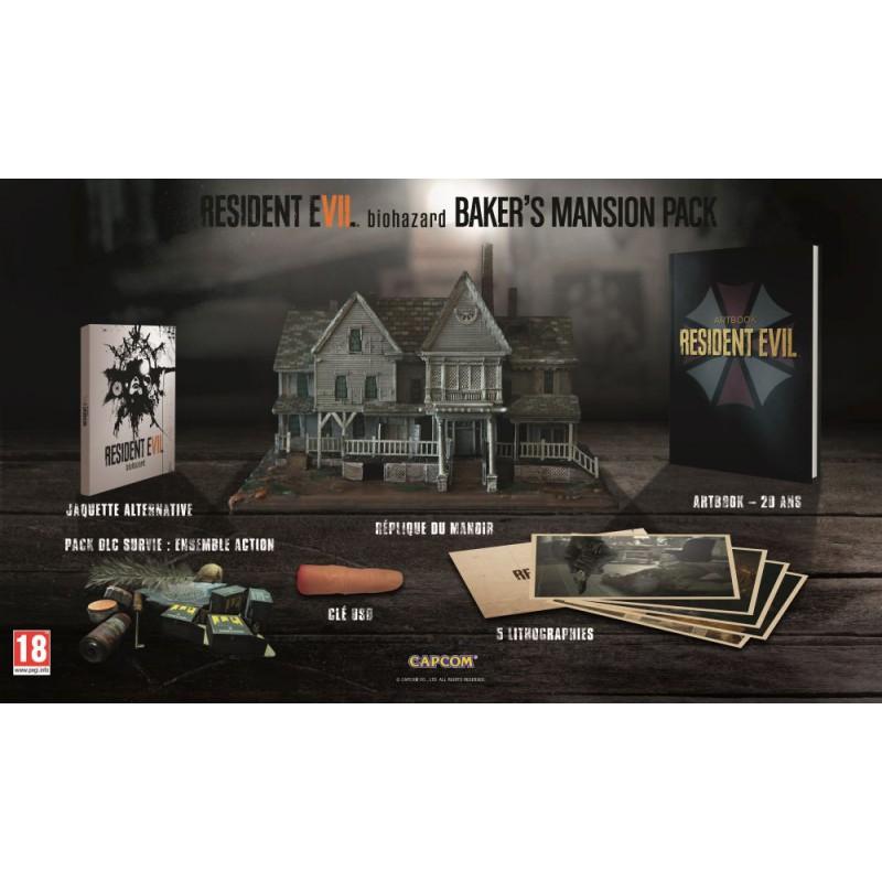 image du jeu Baker's Mansion Pack Resident Evil 7 (sans le jeu) sur AUTRES