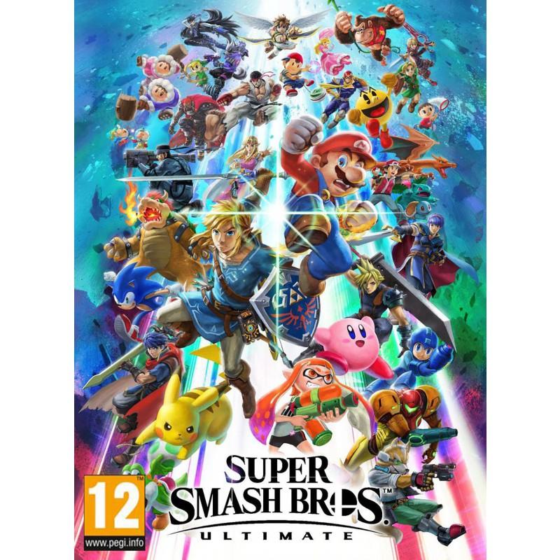 image du jeu Super Smash Bros. Ultimate - Jeu complet - Version digitale sur SWITCH