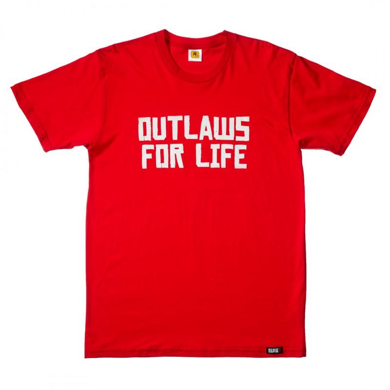 image du jeu T-shirt - Red Dead Redemption 2 - Outlaws For Life - Taille S sur AUTRES