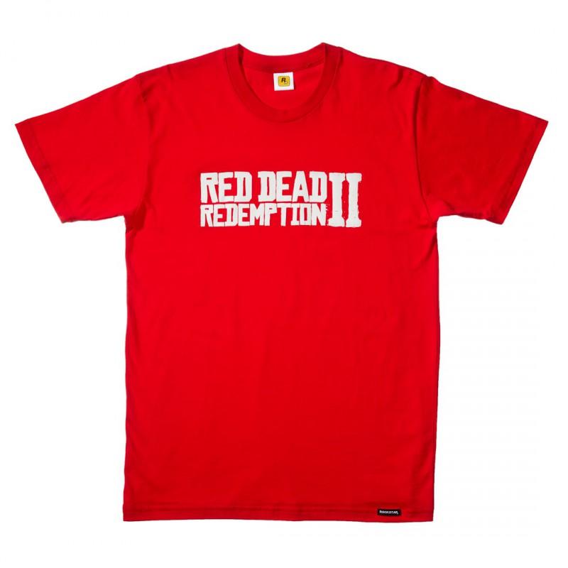 image du jeu T-shirt - Red Dead Redemption 2 - Logo - Taille L sur AUTRES