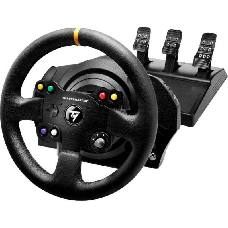 image du jeu TX Racing Wheel Leather Edition Xbox One / PC sur XBOX ONE