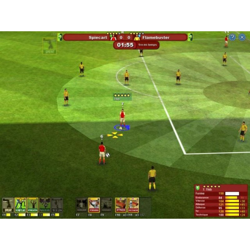 telefoot world of soccer online