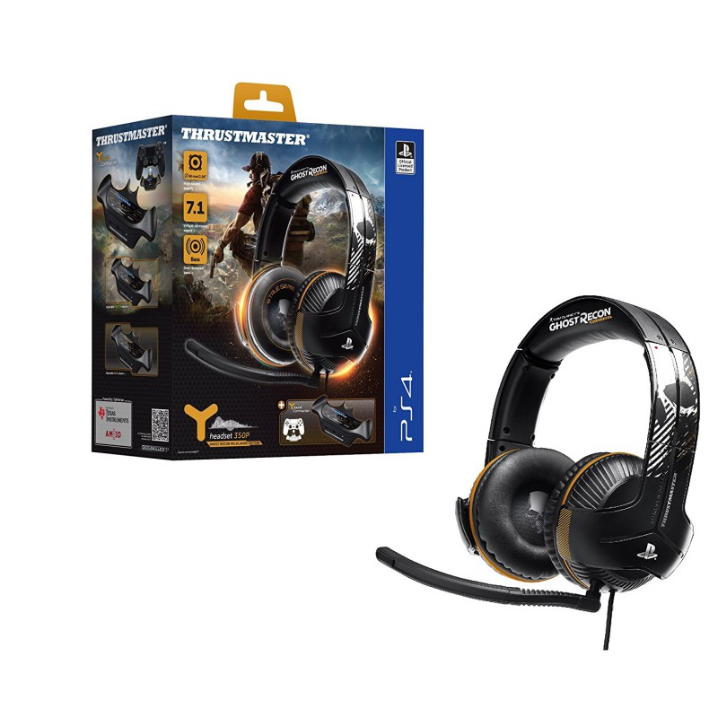 image du jeu Casque Gaming Filaire Y350p 7.1 Powered Ghost Recon Wl Edition sur PS4