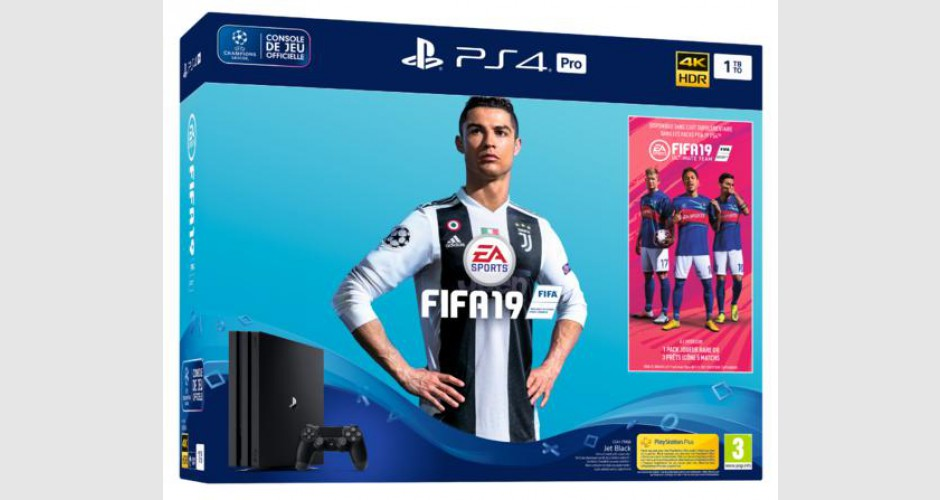Console Sony PS4 PRO - 1To - Pack Fifa 19 - NEUVE 1834792_max_1