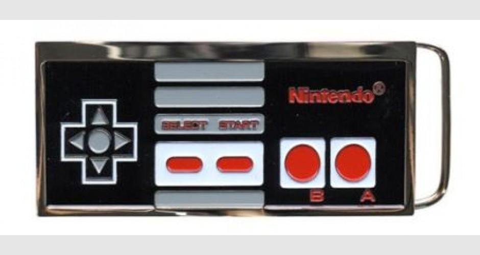 BOUCLE CEINTURE - Nintendo - NES Controller - DIVERS 4b23217c189