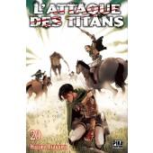 Manga - L'Attaque des Titans - Tome 20