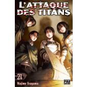 Manga - L'Attaque des Titans - Tome 21