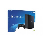 Pack Ps4 Pro 1 To Noire + Qui Es-tu? (voucher)