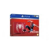 Pack Ps4 Slim 1to Rouge Ed. Limitée + Marvel's Spider-man