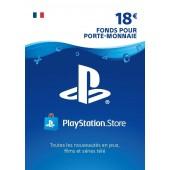 PSN Card 18 Euros PS4 - PS3 - PS Vita