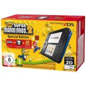 Nintendo 2DS Noire-Bleue + New Super Mario Bros. 2