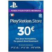 PSN Card 30 euros - PS4 - PS3 - PS Vita