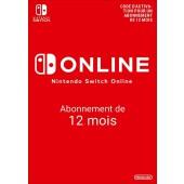 Nintendo Switch Online 365 jours (compte individuel)