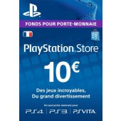 PSN Card 10 euros PS4 - PS3 - PS Vita