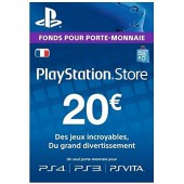 PSN Card 20 euros - PS4 - PS3 - PS Vita