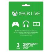 Xbox Live 3 mois Xbox 360 - Xbox One 2018