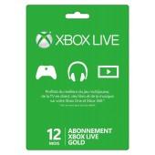 Xbox Live 12 mois Xbox 360 - Xbox One 2018