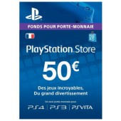 PSN Card 50 euros - PS4 - PS3 - PS Vita