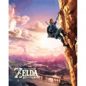 Cadre 3D - Zelda Breath of The Wild - Escalade
