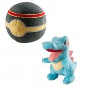 Peluche - Pokémon - Pack Pokéball + Kaiminus - Exclusif Micromania