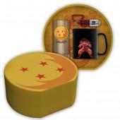 Coffret - Dragon Ball - Verre 29 cl + Porte-clés 3D + Mug - Exclusivité Micromania