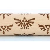 Rouleau à pâtisserie - Nintendo - Zelda Triforce