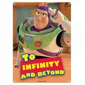 Plaque en métal - Toy Story - To Infinity and Beyond