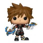 Figurine Toy Pop N°492 - Kingdom Hearts 3 - Sora avec Dual Blasters - Exclusivité Micromania-Zing