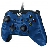 Manette Filaire Camouflage Bleue